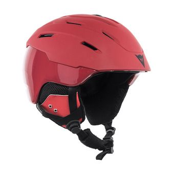 Dainese D-BRID - Casco da sci chili pepper/chili pepper