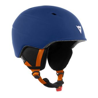 Casco de esquí junior D-SLOPE black iris/russet orange