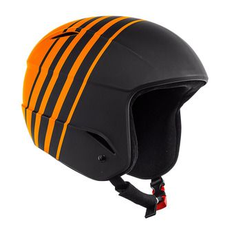 Casco de esquí junior D-RACE stretch limo/russet orange