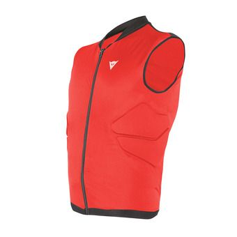 Chaleco de protección junior FLEXAGON red/black