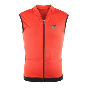Dainese SCARABEO FLEX LITE - Gilet di protezione Junior red/black