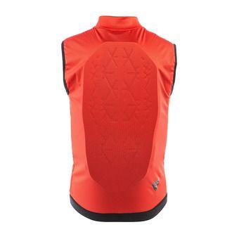 Dainese SCARABEO FLEX LITE - Gilet de protection Junior red/black