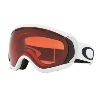 Oakley CANOPY - Gafas de esquí matte white/prizm rose