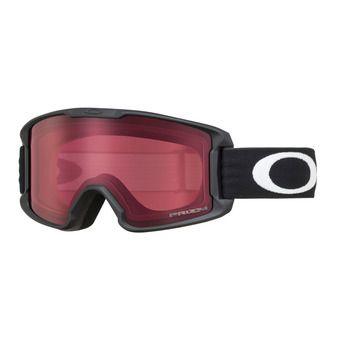 Oakley LINE MINER - Gafas de esquí junior matte black/prizm rose