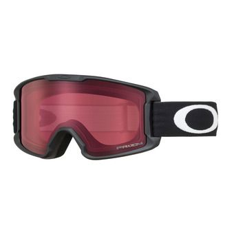 Oakley LINE MINER - Masque ski Junior matte black/prizm snow rose