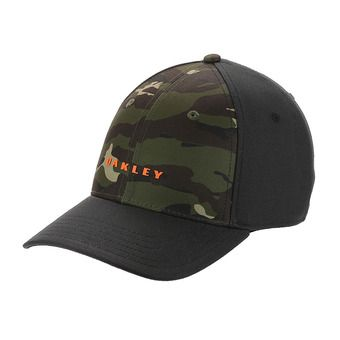 Gorra 6 PANEL SOLID blackout