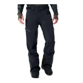 Pantalón de esquí hombre SKI SHELL 15K 3L blackout