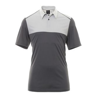 Polo MC homme COLOR BLOCK forged iron