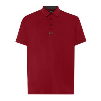Polo hombre CONTRAST iron red
