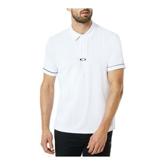 Polo MC homme CONTRAST white