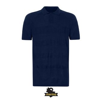 Polo MC homme ENGINEERED KNIT ensign blue