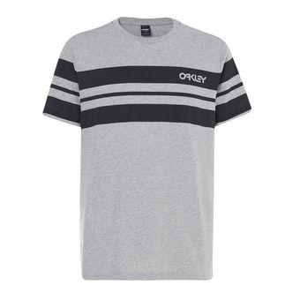 Tee-shirt MC homme CLASSIC STRIPE WIDE granite heather