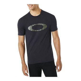 Tee-shirt MC homme ELLIPSE LINE CAMO blackout