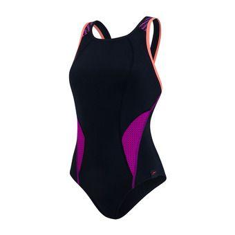 Bañador mujer POWERMESH PRO black/pink