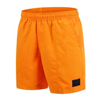Short de bain homme CHECK TRIM LEISURE 16 orange