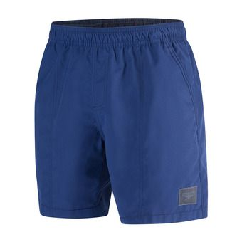 Short de bain homme CHECK TRIM LEISURE 16 navy