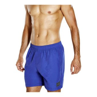 Short de bain homme CHECK TRIM LEISURE 16 blue