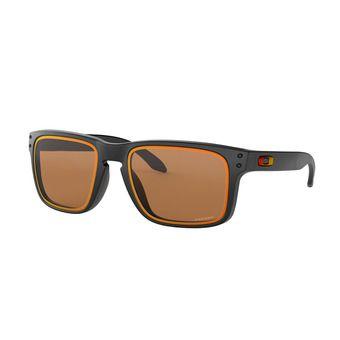 Oakley HOLBROOK - Gafas de sol matte black/prizm bronze