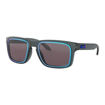 Oakley HOLBROOK - Sunglasses - matt crystal black/prizm grey