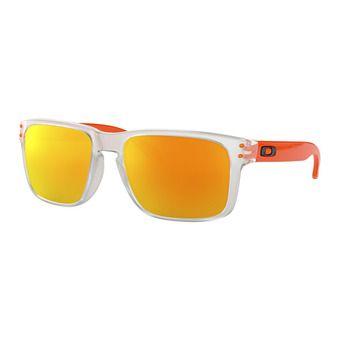 Oakley HOLBROOK - Gafas de sol crystal clear/fire iridium