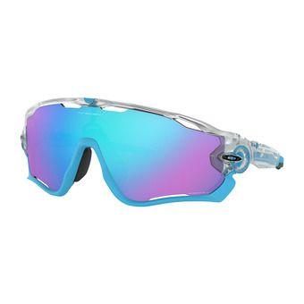 Oakley JAWBREAKER - Sunglasses - matt clear/prizm sapphire