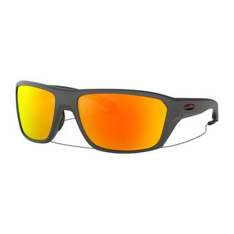 4b83799f9a Soldes -30% Oakley SPLIT SHOT - Lunettes de soleil polarisées matte heather  grey/prizm ruby