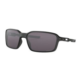 Oakley SIPHON - Sunglasses - matt black/prizm grey