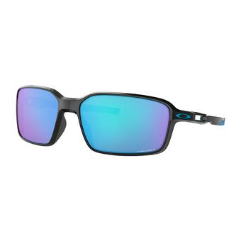 Oakley SIPHON - Sunglasses - polished black/prizm sapphire