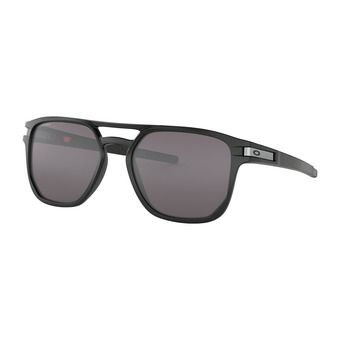 Oakley LATCH BETA - Lunettes de soleil matte black/prizm grey