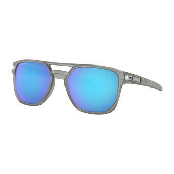 Oakley LATCH BETA - Lunettes de soleil polarisées matte grey ink/prizm sapphire