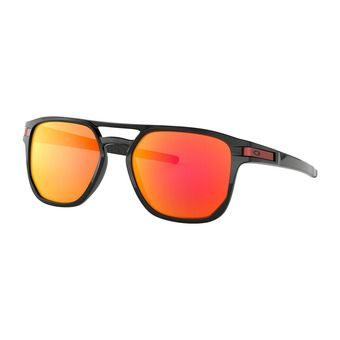 Oakley LATCH BETA - Sunglasses - polished black/prizm ruby