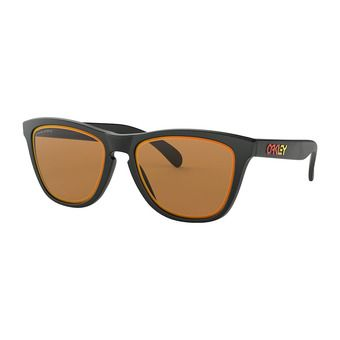 Oakley FROGSKINS - Sunglasses - matt black/prizm bronze