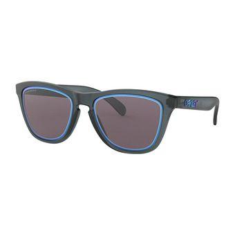 Oakley FROGSKINS - Occhiali da sole matte crystal black/prizm grey