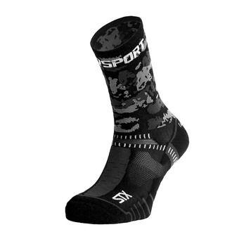 Bv Sport STX EVO COLLECTOR ARMY - Calze nero/grigio