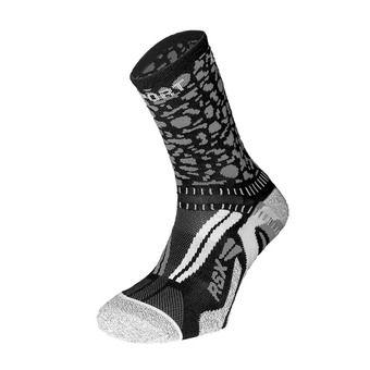 Chaussettes de running RSX EVO COLLECTOR GRAFIK noir/gris