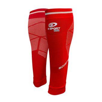 Bv Sport BOOSTER ELITE EVO2 - Calf Sleeves - red