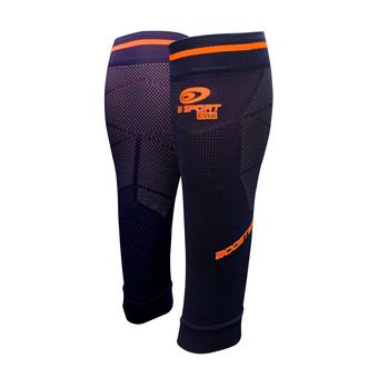 Bv Sport BOOSTER ELITE EVO2 - Calf Sleeves - blue/orange