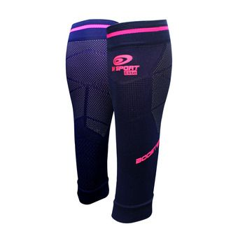 Manchons de compression femme BOOSTER ELITE EVO2 bleu/rose