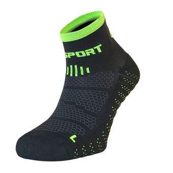 Socquettes SCR ONE EVO noir/vert