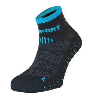 Socquettes SCR ONE EVO noir/bleu