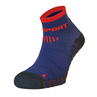 Bv Sport SCR ONE EVO - Chaussettes bleu/rouge