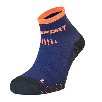 Bv Sport SCR ONE EVO - Chaussettes bleu/orange