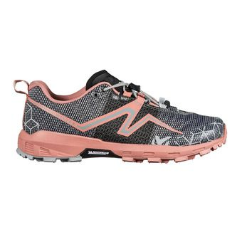 Chaussures de trail femme LIGHT RUSH pop coral