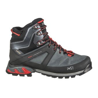 Millet HIGHROUTE GTX - Chaussures randonnée Homme urban chic/rouge