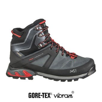 Millet HIGH ROUTE GTX - Chaussures randonnée Homme urban chic/rouge
