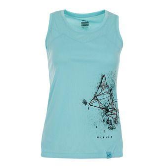 Tank Top - Women's - BOREN aruba blue