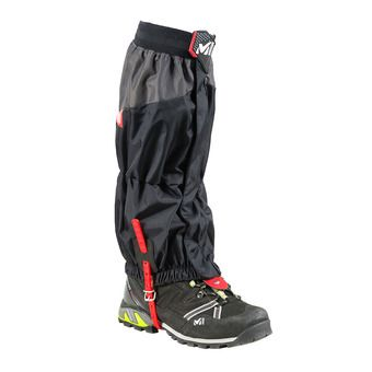Millet HIGH ROUTE GAITER - Guêtres Homme black/red