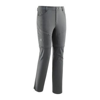 Millet TREKKER S - Pantalon convertible Homme castle gray