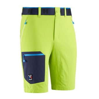 Millet TRILOGY ONE CORDURA - Short hombre acid green/saphir