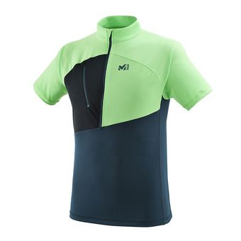 Millet ELEVATION - Jersey - Men's - orion blue/flash green